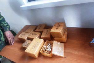 Золото на 10 млн сомов задержали пограничники Кыргызстана
