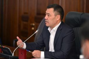 Обращение Садыра Жапарова к кыргызстанцам