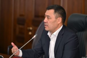 Садыр Жапаров объяснил назначение главой таможни Эльнуры Мамбетжунушевой