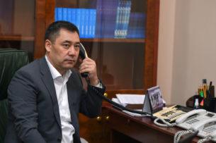 Премьер-министр Узбекистана поздравил Садыра Жапарова с назначением на высокий пост