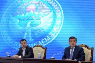 Садыр Жапаров подписал указ об экс-президенте Кыргызстана С.Жээнбекове