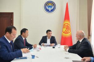 Садыр Жапаров встретился с послом России в Кыргызстане