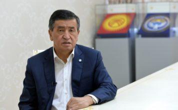 Сооронбай Жээнбеков подал в отставку с поста президента Кыргызстана
