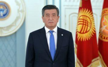 Сооронбай Жээнбеков : Как только страна встанет на путь законности, готов уйти с поста президента