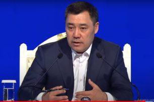 Садыр Жапаров обещает раскрыть истинное лицо лидера противников новой Конституции