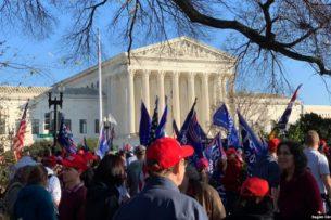 Митинги сторонников Трампа прошли в Вашингтоне. Они требовали «остановить воровство»