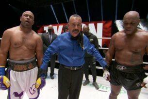 Бой Майка Тайсона и Роя Джонса завершился вничью. Легендарные боксеры не согласны с решением судей