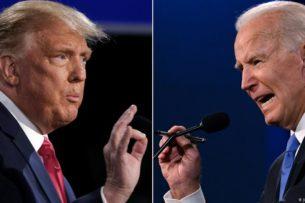 Трамп обещает покинуть Белый дом, если Коллегия выборщиков признает Байдена победителем