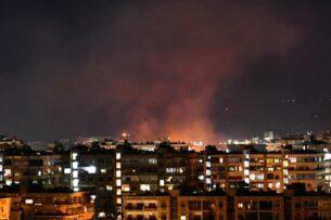 Сирия заявила, что Израиль нанес воздушные удары по ее территории
