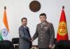 В Генштабе обсудили вопросы военного сотрудничества между Кыргызстаном и Индией