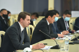 Новиков: Совместные усилия правительства и партнеров по развитию повлияют на минимизацию последствий COVID-19
