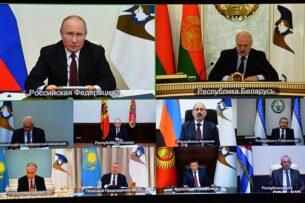 Талант Мамытов на саммите глав стран ЕАЭС поднял вопросы общего рынка газа и трудовой миграции