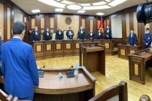 Конституционная палата Кыргызстана признала законным перенос выборов в Жогорку Кенеш