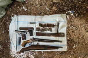 ГКНБ: В Иссык-Кульской области обнаружен схрон оружия и боеприпасов