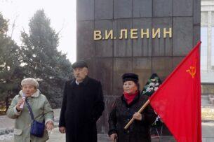 Союз коммунистов Кыргызстана почтил память Ленина