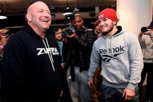 Хабиб сравнил предстоящую встречу с президентом UFC с советской «Операцией Ы»