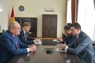Артем Новиков обсудил с зампредседателя правления «Газпром» возможность снижения тарифов на газ