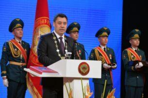 О чем говорил Садыр Жапаров на инаугурации (текст выступления)