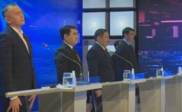 Теледебаты кандидатов в президенты Кыргызстана. Второй тур, третий день