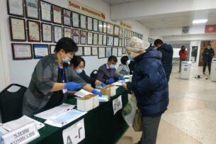 Информационные ресурсы ЦИК Кыргызстана о различных сторонах выборов президента и референдуме