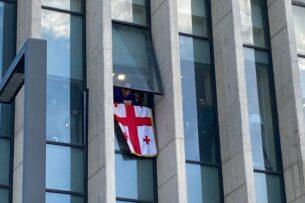 В Грузии арестован глава партии Саакашвили Никанор Мелия