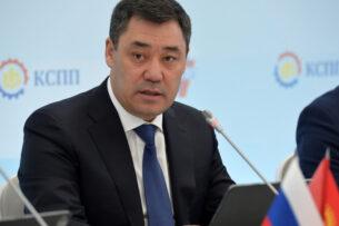 Садыр Жапаров встретился представителями крупного российского бизнеса