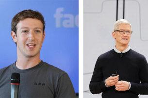 WSJ рассказала об эскалации вражды между главами Apple и Facebook