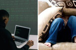 Парень показал, что видит хакер на чужом компьютере, и напугал соцсети