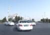 В Ашхабаде требуют перекрашивать темные детали машин предприятий
