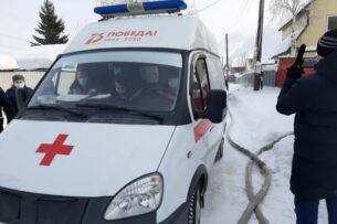 В Сургуте на пожаре погибли два ребенка из Кыргызстана