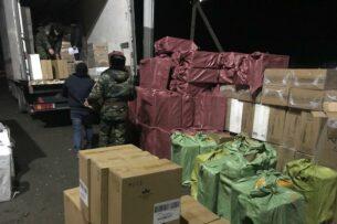 ГКНБ Кыргызстана изъял  более 760 тыс. контрабандных пачек сигарет