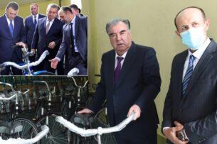 В Таджикистане одно и то же предприятие открыли дважды: сначала премьер-министр, а потом президент