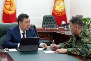 Садыр Жапаров обсудил с Камчыбеком Ташиевым приграничные вопросы