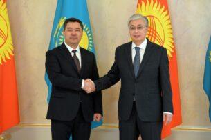 Президенты Кыргызстана и Казахстана приняли Совместное  заявление