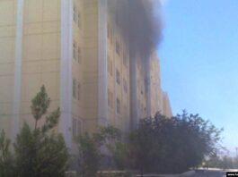 При пожаре на севере Туркменистана погибли дети