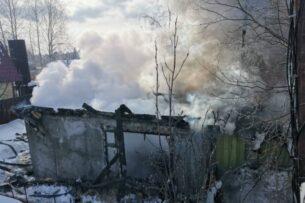 В Сургуте выяснили причину пожара в дачном обществе, где сгорели дети кыргызстанцев