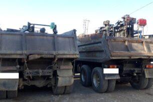 Пограничники Кыргызстана пресекли незаконный ввоз трех станков для производства пескоблока