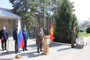 Военнослужащие России награждены именными часами президента Кыргызстана