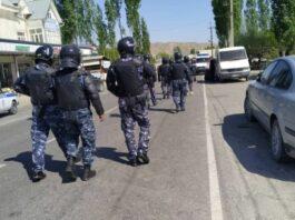 Во время военного конфликта подверглись нападению и были разрушены милицейские участки в Баткенской области