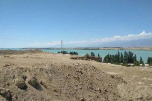 ОсОО «Чекиш Ата» выкапывает участки приграничной территории Кыргызстана с Казахстаном