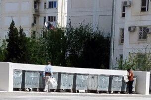В Ашхабаде полиция усиливает «борьбу» со сборщиками мусора. Это не останавливает людей
