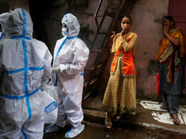 В Индии у перенесшего COVID-19 выявили «зеленую плесень»