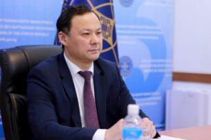 Руслан Казакбаев принял участие в онлайн-встрече глав внешнеполитических ведомств стран Центральной Азии и США («С5+1»)