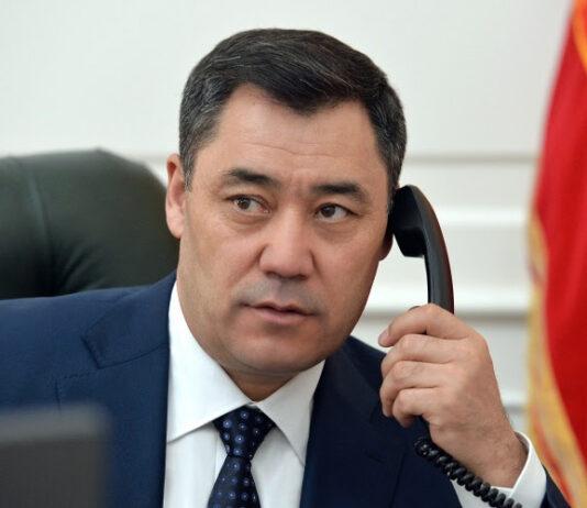 Состоялся телефонный разговор Садыра Жапарова с  Николом Пашиняном