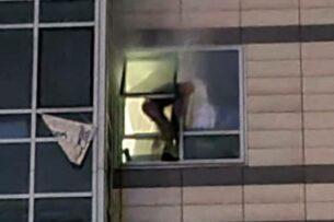 Спецоперация в Алматы: стрелок выпрыгнул с 17 этажа и погиб на месте (видео)