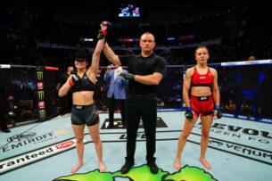Антонина Шевченко проиграла Андреа КГБ Ли на турнире UFC 262