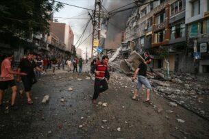 Армия Израиля сообщила о начале наземной операции в секторе Газа. В ответ палестинцы усилили обстрел израильской территории
