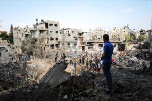 Израильские ВВС атакуют сектор Газа, ХАМАС отвечает ракетами. Палестина обвиняет США в массовых убийствах