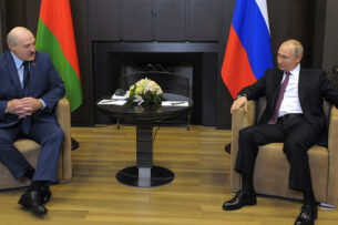 «Нет тех высот, которые большевики не брали». Лукашенко рассказал Путину об инциденте с самолетом Ryanair