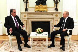 О чем говорил Путин с Рахмоном в Москве